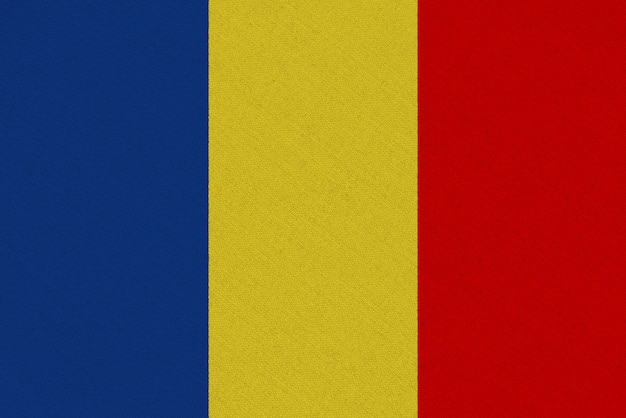 Vlag van roemenië stof