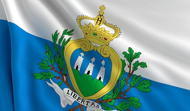 Vlag van san marino