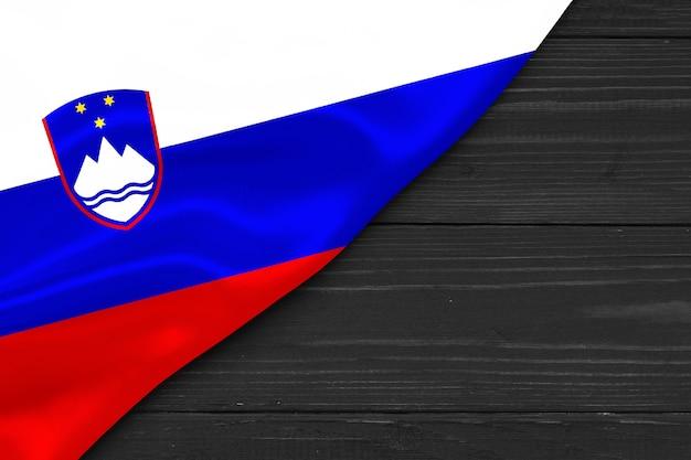 Vlag van slovenië kopie ruimte