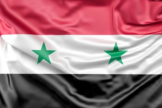 Vlag van syrië