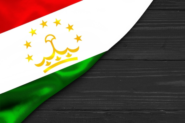 Vlag van tadzjikistan kopie ruimte