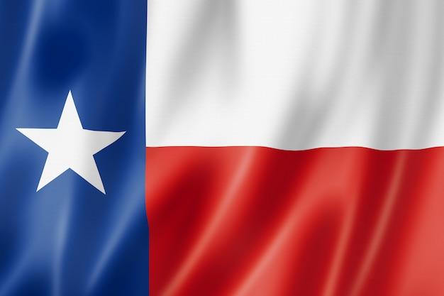 Vlag van texas, verenigde staten