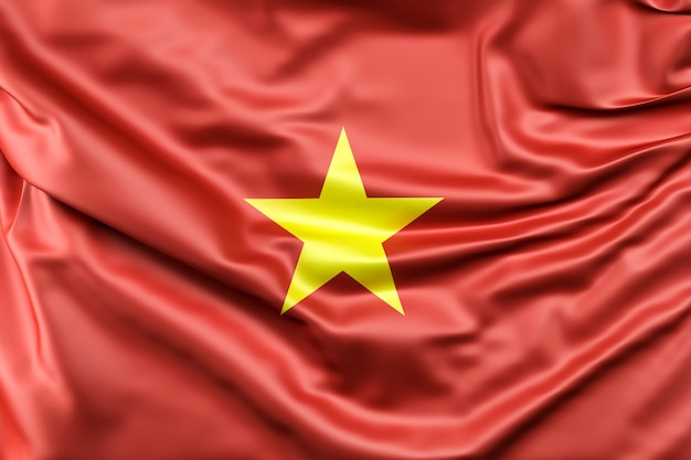 Vlag van vietnam