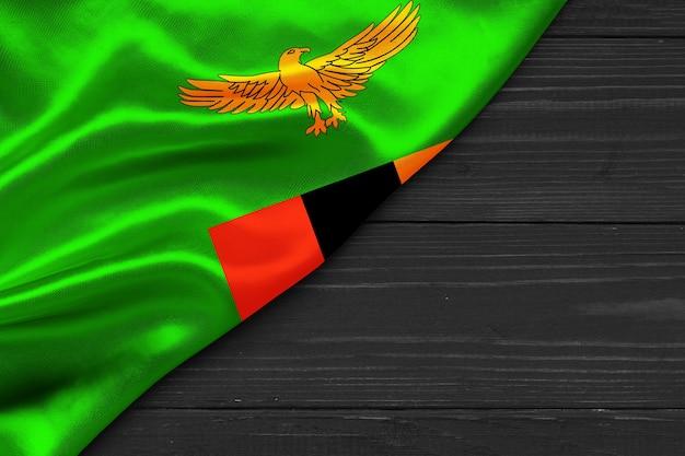 Vlag van zambia kopie ruimte