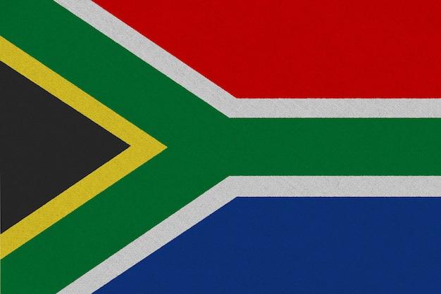 Vlag van zuid-afrika stof