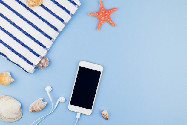 Vlak leg concept de vakanties van de de zomerreis