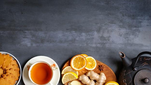 Vlakke natuurlijke remedies tegen verkoudheid en griep