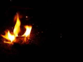 Vlammen en schaduwen