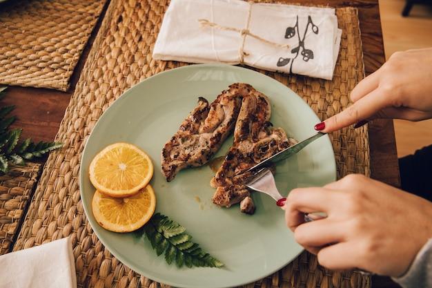 Vlees bord