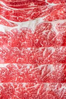 Vlees rundvlees textuur