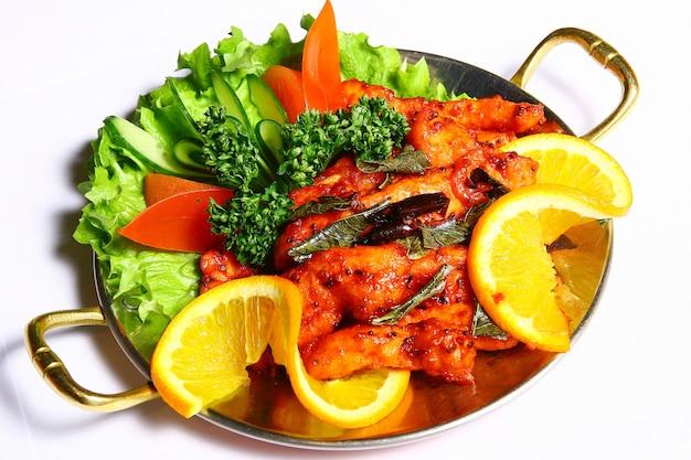 Vleesschotel met groenten