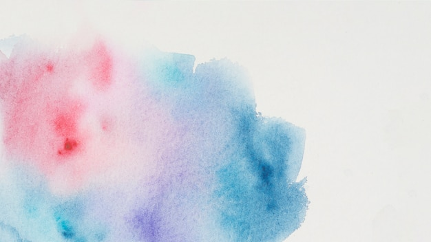 Vlek van kleurrijke verf