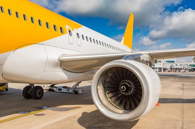 Vliegtuig in singapore