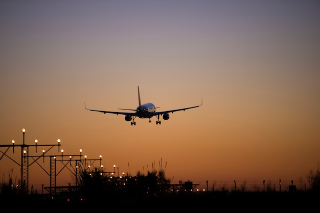 Vliegtuig schiet hoge kwaliteit