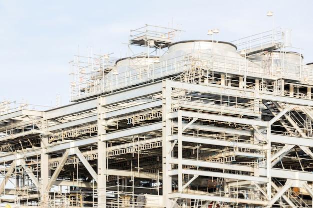 Vloeibaar aardgas raffinaderij fabriek