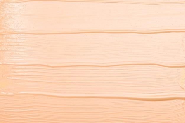 Vloeibare foundation textuur. make-up voor vrouwen. bovenaanzicht.