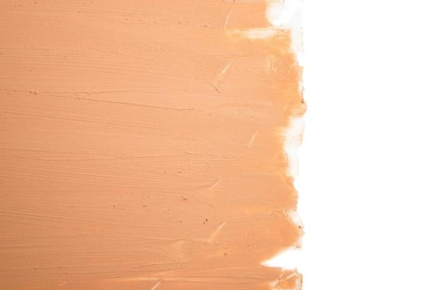 Vloeibare foundation textuur. make-up voor vrouwen.