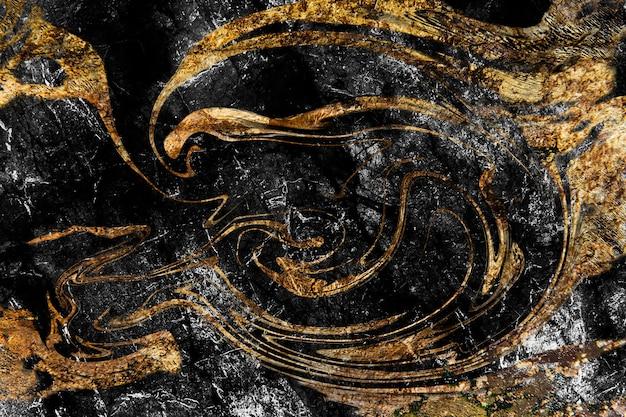 Vloeibare kunst marmering verf getextureerde achtergrond