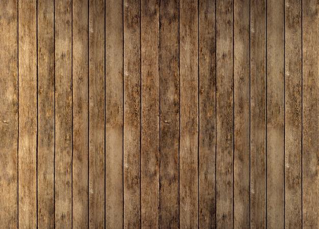 Vloer of wand van rustieke houten planken