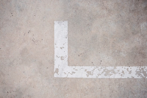 Vloerparkeerlijn