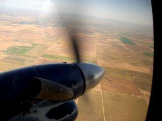 Vlucht, luchtfoto