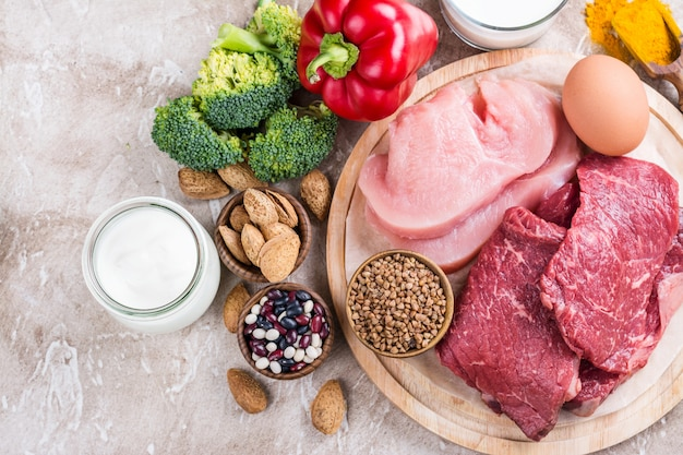 Voedingsmiddelen voor het opbouwen van spieren
