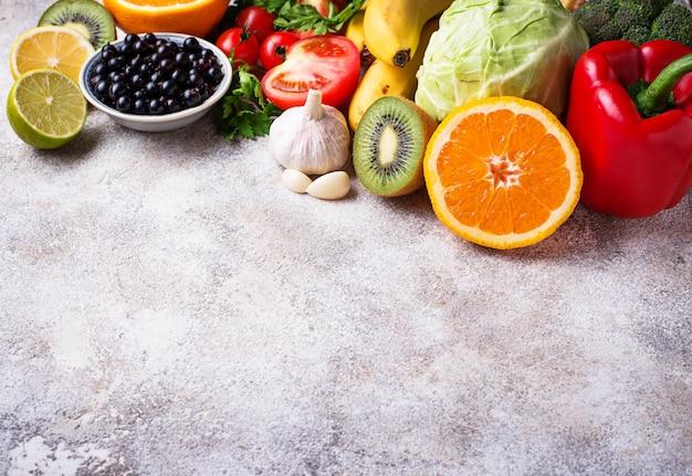 Voedsel dat vitamine c bevat. gezond eten