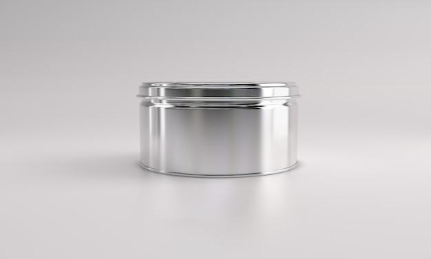Voedsel in metalen blik