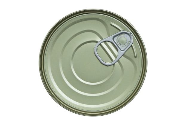 Voedsel kan geïsoleerd op een witte achtergrond