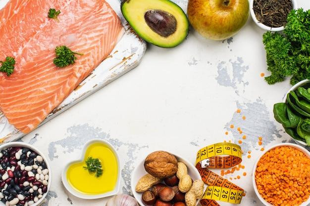 Voedsel met een laag cholesterolgehalte