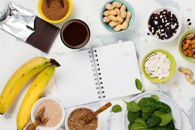 Voedsel rijk aan magnesium