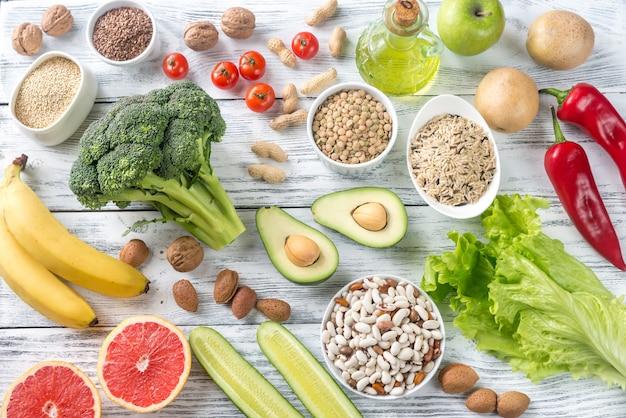 Voedsel voor een goed dieet