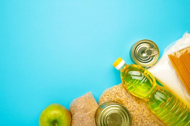 Voedseldonaties voor mensen.