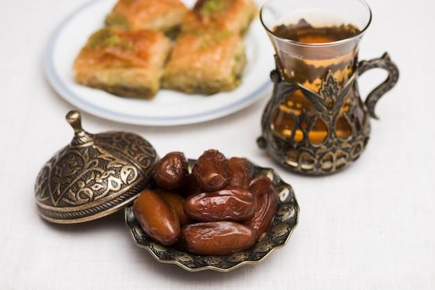 Voedselsamenstelling voor ramadan