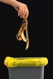 Voedselverspilling concept