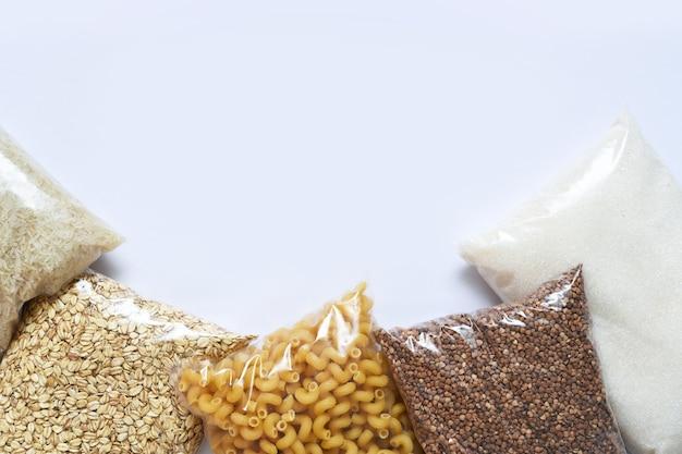 Voedselvoorziening crisis voedselvoorraad voor quarantaine