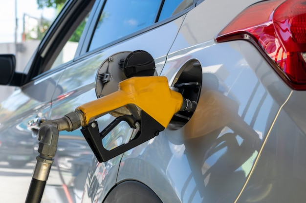 Voertuigbrandstofpomp met ethanol of benzine