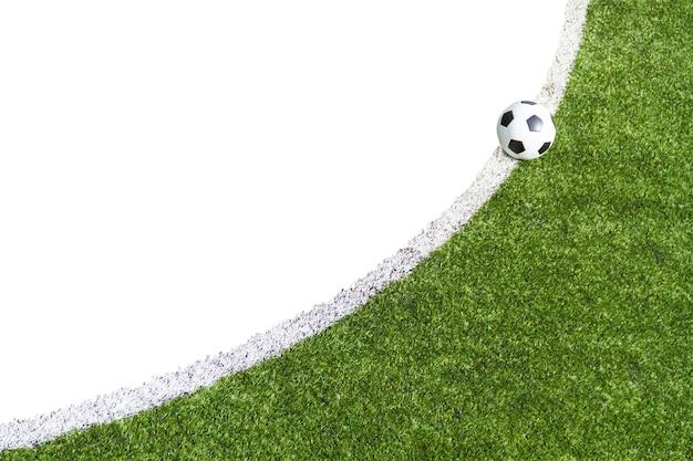 Voetbal op het gras