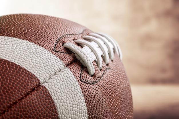 Voetbal, sport, getextureerd leer