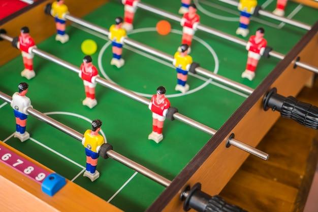 Voetbal tafel spel