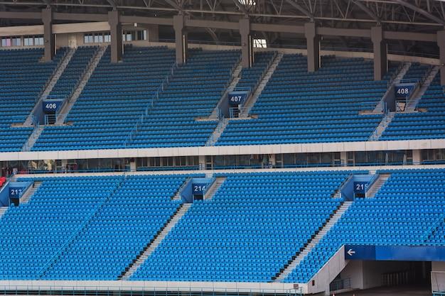 Voetbal voetbalveld stadion