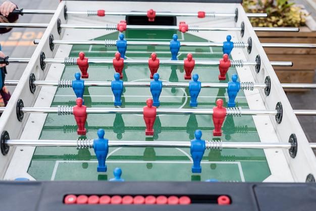 Voetbalfiguren van kindervoetbal
