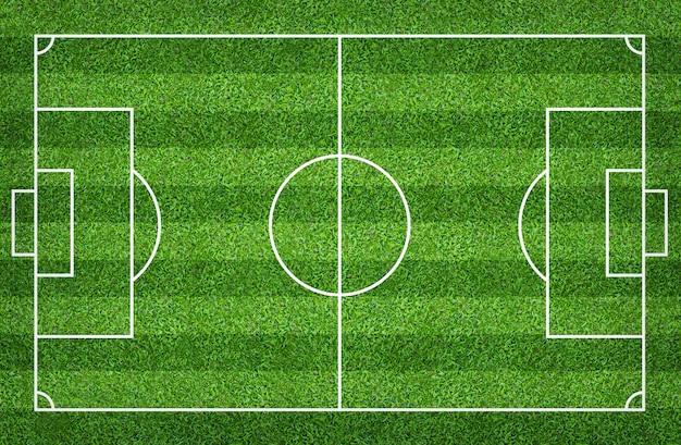 Voetbalgebied of voetbalgebied voor achtergrond
