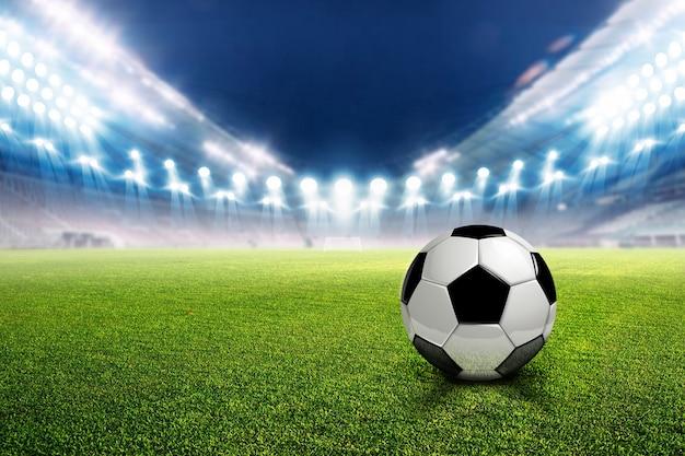 Voetbalstadion voetbal