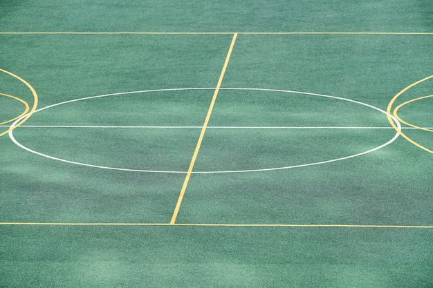 Voetbalveld kunstgras