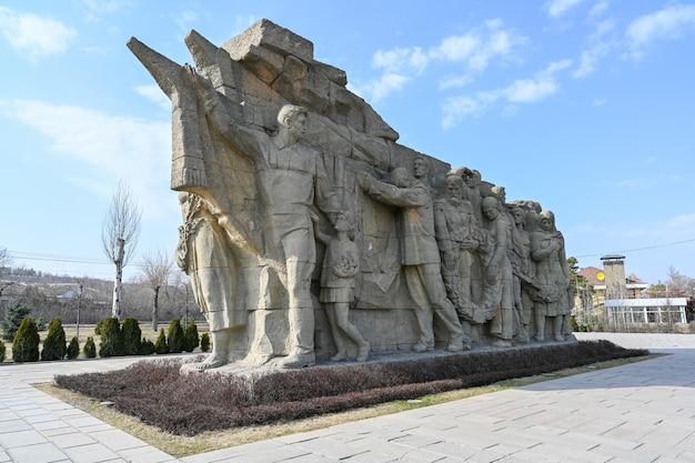 Volgograd, rusland - 13 juni 2021: monument