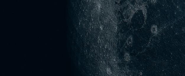 Volle maan mooie textuur van de maan