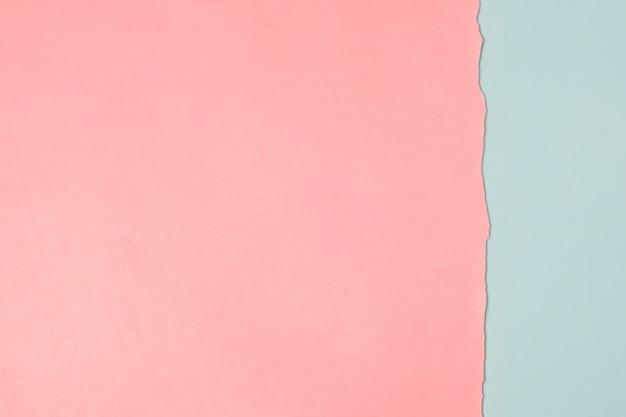 Volledig frame van dubbele kleuren papier achtergrond