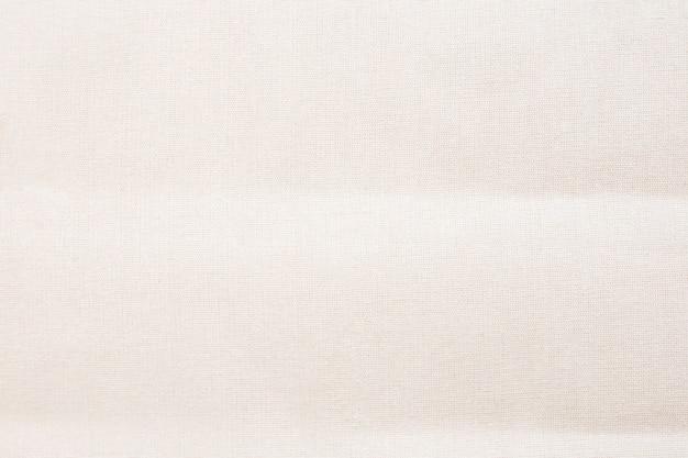 Volledig frame van witte canvas draagtas
