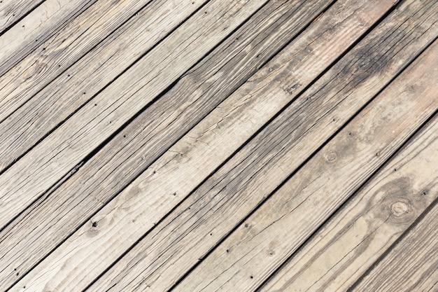 Volledige frame shot van houten bord textuur achtergrond